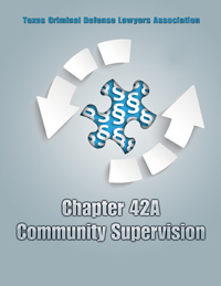 Chapter 42A - Community Supervision 2019-20
