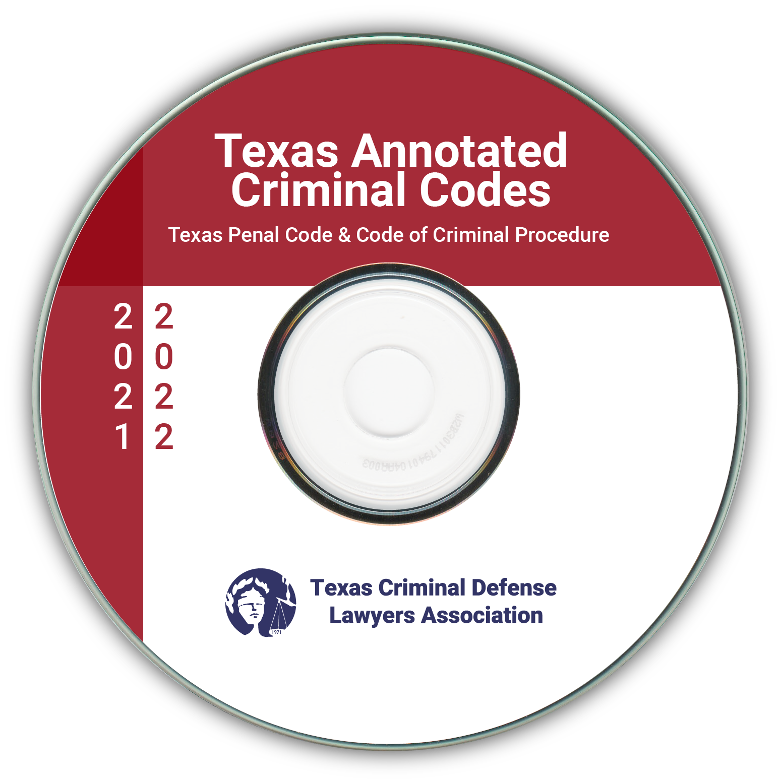 Texas Annotated Criminal Codebooks CD, 2021