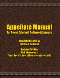 Appellate Manual, 2019-20