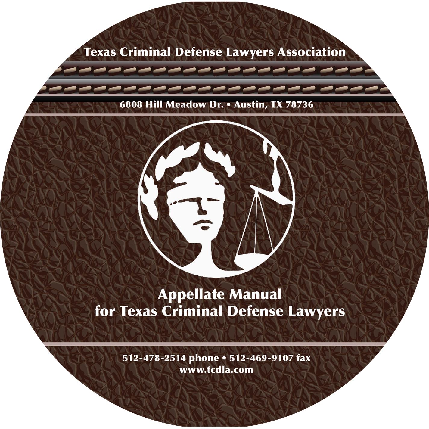 Appellate Manual CD, 2019-20