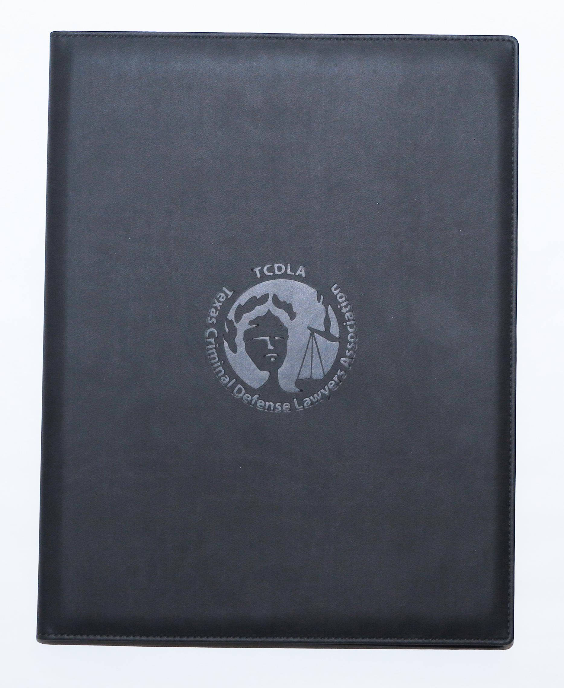 TCDLA Padfolio -  Black