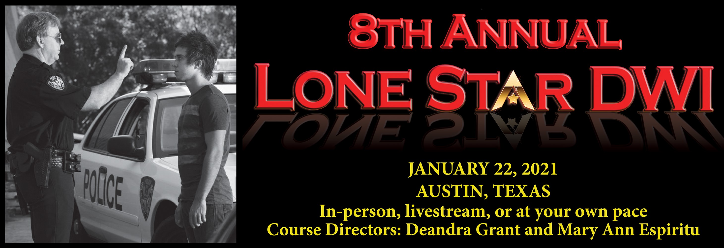 8th Annual Lone Star DWI: DWI Defense & COVID